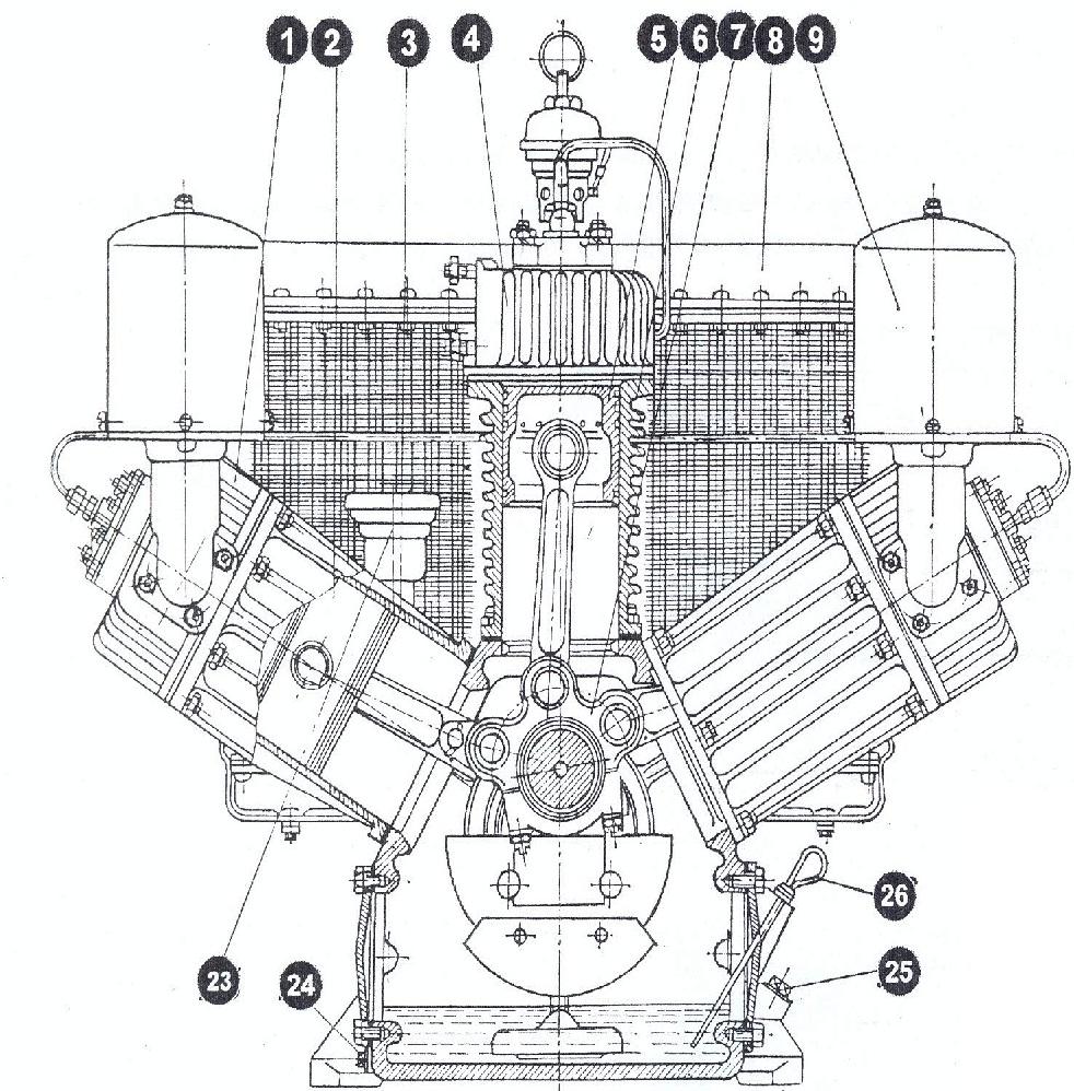 электрическая схема поршневого компрессора